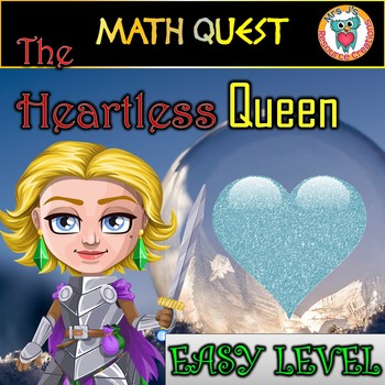 Valentine's Day Math Review Quest: The Heartless Queen (EA