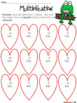 valentine 39 s day multiplication color the by the teacher down the hall teachers pay teachers. Black Bedroom Furniture Sets. Home Design Ideas