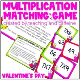 Valentine's Day Multiplication Memory
