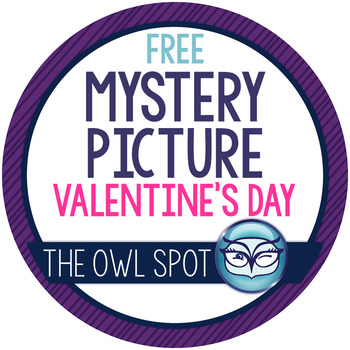 Valentine's Day Mystery Picture Freebie