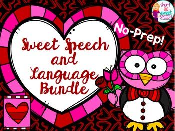 Sweet Speech and Language Bundle: Valentine's Day No-Prep