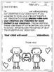 Valentine's Day Parent Letter FREEBIE {Valentine Exchange