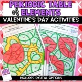 Valentine's Day Periodic Table Review Activity