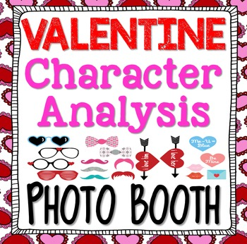 Valentine's Day: Photo Booth Character Study Writing