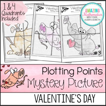 Valentine's Day Plotting Points - Mystery Picture