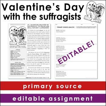 Valentine's Day Primary Source Analysis