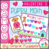 Valentine's Day Puppy Math