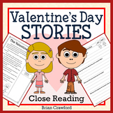 Valentine's Day Reading Passages - Close Reading