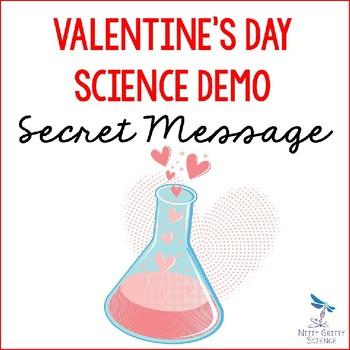 Valentine's Day Science Demo - Secret Message {Acids and Bases}