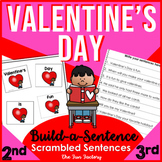 Valentine's Day ~Scrambled Sentences~ 1st-3rd Sight Words