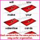 Valentine's Day ~Scrambled Sentences~ 1st-3rd Sight Words