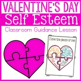 Valentine's Day Self Esteem Classroom Guidance Lesson - Sc