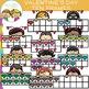 Ten Frames for Valentine's Day Clip Art