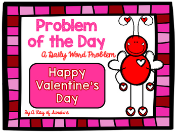 Valentine's Day Word Problems FREEBIE