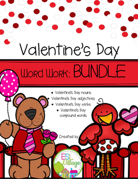 Valentine's Day Word Work BUNDLE