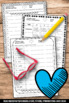 Valentine's Day Worksheets Vocabulary & Writing Activities