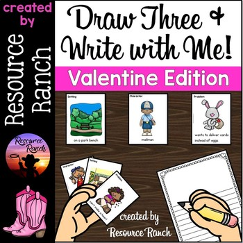 Valentine's Day Writing Activity Center