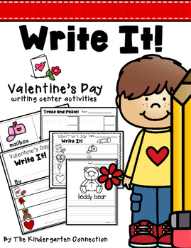 Valentine's Day Writing Center Activities