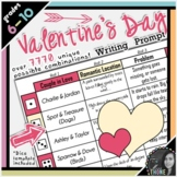 Valentine's Day Roll-A Writing Prompt