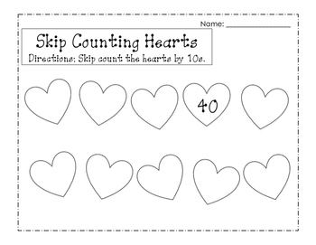 Valentine's Day Writing and Math