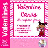 Valentine's Day non fiction passage comprehension activiti