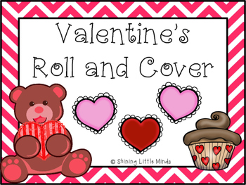 Valentine's Roll and Cover with Numbers 1-12