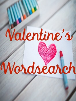Valentine's Day Wordsearch