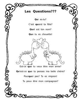 """Valentine's poem with """"qu"""" sounds and question words"""