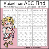 Valentines ABC Find