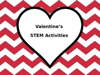 Valentine's Activities that include STEM