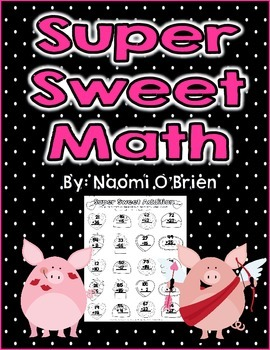 Valentine's Addition and Subtraction for 2nd Grade