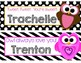 Valentines Bookmarks or Name Plate, EDITABLE, PERSONALIZED