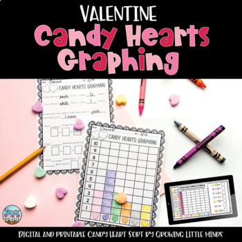 Valentines Candy Hearts Graphing