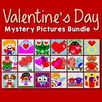 Valentine's Day Coloring Pages, Fun Valentines Mystery Pic