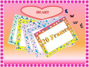 Frames - Hearts - Personal or Commercial Use