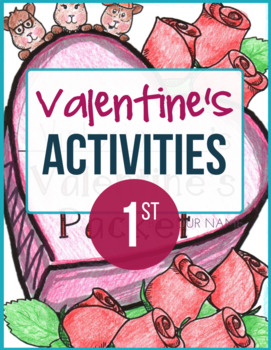 Valentine's Day Activities Packet for 1st Grade