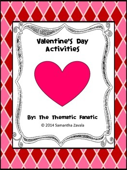 Valentines Day Activities Bundle