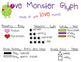 Valentine's Day Activities - Monster Glyph