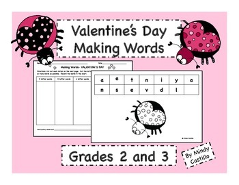 Valentine's Day Activity- Making Words