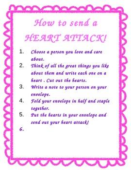 Valentine's Day Activity: Send a heart attack!
