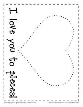 Valentine's Day Art Page