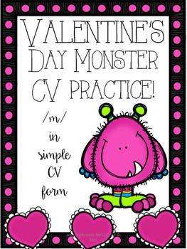 Valentines Day Articulation /m/