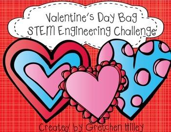 Valentine's Day Bag STEM Engineering Challenge
