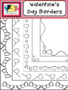 Valentine's Day Borders & Frames
