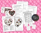Valentine's Day Yummy Box of Chocolates Math - Fractions a