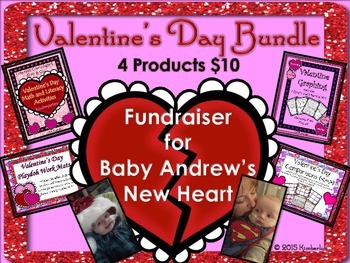 Valentine's Day Fundraiser Bundle  {Baby Andrew's Heart Fund}