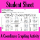 Valentine's Day - Candy Conversations - A Coordinate Graph