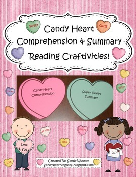 Valentine's Day Candy Heart Comprehension and Summary Read