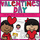 Valentine's Day- Cards and Writing Activities