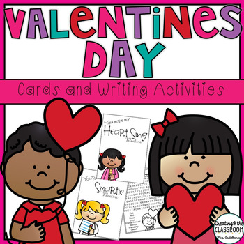Valentines Day Cards and Writing Activities